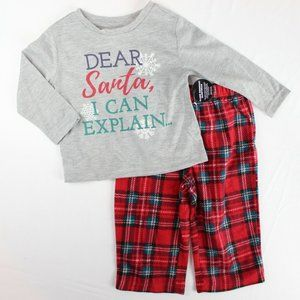 3/$30 NWOT Joe Boxer Boy Christmas PJ Set 2 Piece